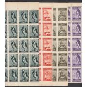 España Spain Franquicias 19/22 1931 Cortes Constituyentes León MNH