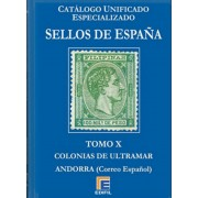 Catálogo Edifil Especializado Tomo IX Colonias Puerto Rico Filipinas Andorra ..