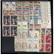 España Spain Año Completo Year Complete 1968 BL.4 MNH