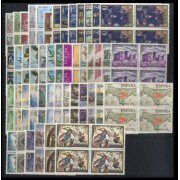 España Spain Año Completo Year Complete 1972 BL.4 MNH
