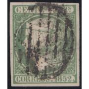 España Spain Variedad 15a 1852 Isabel II