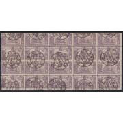 España Spain  259 (257/66) 1905 Bl.20  QUIJOTE
