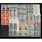 España Spain Año Completo Year Complete 1966 Bl.4 MNH