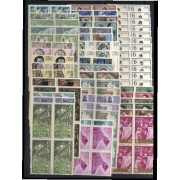 España Spain Año Completo Year Complete 1969 Bl.4 MNH