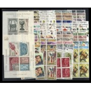 España Spain Año Completo Year Complete 1975 Bl.4 MNH