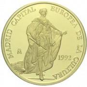 España Spain Monedas 1992 Ecus Colección completa plata y oro