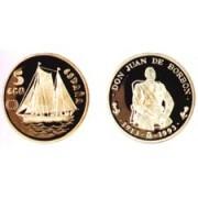 España Spain Moneda 1993 Don Juan de Borbón 100 Ecus oro