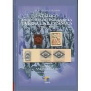 CATÁLOGO EDIFIL SELLOS LOCALES DE LA GUERRA CIVIL ESPAÑOLA TOMO IV 1936 -1939