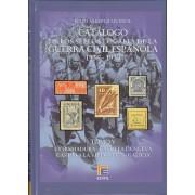 CATÁLOGO EDIFIL SELLOS LOCALES DE LA GUERRA CIVIL ESPAÑOLA TOMO V 1936 -1939