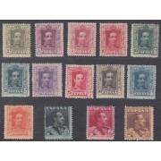 España Spain 310/23 1922 - 1930 Alfonso XIII Vaquer MNH
