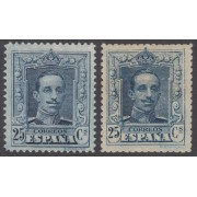 España Spain NE 23/24 1922/1930 No emitidos No Expendidos Alfonso XIII Vaquer MH MNH
