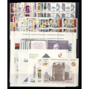 España Spain Año completo Year Complete 1992 Bl.4 MNH