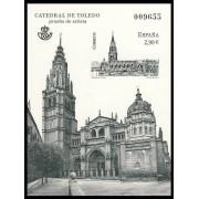 España Spain Prueba de lujo 108 2012 Catedral de Toledo