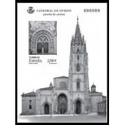 España Spain Prueba de lujo 109 2012 Catedral de Oviedo