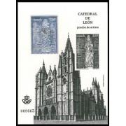España Spain Prueba de lujo 110 2012 Catedral de León