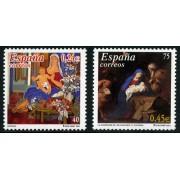 España Spain Emisión conjunta 2001 España-Alemania Navidad MNH