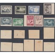 España Spain 583/91s 1930 Iberoamericana MH