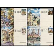 España  Spain Entero Postal ( tarjeta ) 101/04 1973 Turismo Barcelona Madrid Córdoba Zaragoza