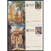España  Spain Entero Postal ( tarjeta ) 105/06 1974 Turismo Valencia Cáceres