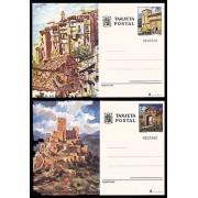 España  Spain Entero Postal ( tarjeta ) 111/12 1975 Turismo Cuenca Jaén