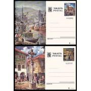 España Spain Entero Postal ( tarjeta )  113/14 1976 Turismo Bilbao Pontevedra