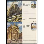 España Spain Entero Postal ( tarjeta ) 119/20 1979 Turismo Asturias Salamanca
