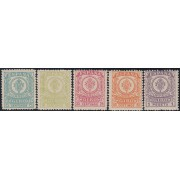 España Spain 1/5 1911 1920 Giro Postal Especializado Escudo de España MNH
