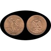 Mexico Mejico 50 pesos mejicanos 1944 37,5 gramos de oro puro Au