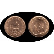 Sudafrica South Africa Krugerrand 1981  onza oro puro Au