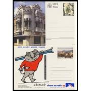 España Spain Entero Postal  ( tarjeta ) 157/58 1994 Turismo Ceuta Granada Sierra Nevada Ski Sky