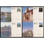 España Spain Entero Postal ( tarjeta ) 163/66 1997 Turismo Zamora Palencia Burgos Segovia