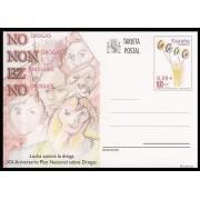 España Spain Entero Postal ( tarjeta ) 175 2006 XX Aniversario Plan Nacional Drogas