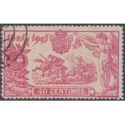 España Spain 262 (257/66) 1905 Quijote Sello Usado