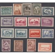 España Spain Variedad 566/82s 1930 Iberoamericana MH