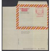 España Aerogramas 120 1976 Bicolor Franqueo mecánico previamente impreso