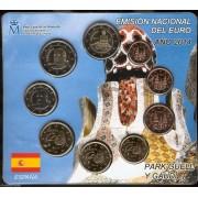 España Spain 2014 Cartera Oficial Euros + 2€ Conmemorativos Park Güell Gaudí FNMT