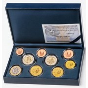 España Spain 2014 Cartera Oficial Euros € Estuche Euroset Proof + 2€ Conmemorativos Parque Güell Gaudí FNMT