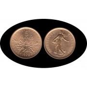 France Francia 5 francs 1972 Pie forts Pieforts Pruebas Tirada: 200 monedas  KM P457