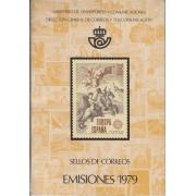 Libro Oficial Correos España 1979