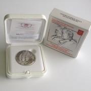 Ciudad Vaticano 2014 Medalla Oficial Plata Canonización Juan XXIII Juan Pablo II