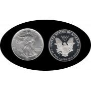 Estados unidos United States Onza de plata 1 $ 1993 Liberty