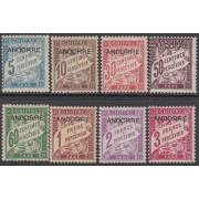 Andorra Francesa 1/8 -T 1931 -1932 Sellos Tasa de Francia MNH