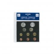 Hojas Monedas Safi para Euros España 2004 en castellano
