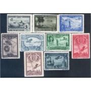 España Spain 583/91 1930 Pro Unión Iberoamericana MH