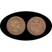 España Spain 25 ptas 1880 Alfonso XII oro Au gold
