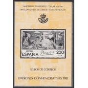 Libro Oficial Correos España 1981