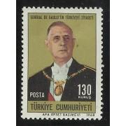MI1 Turquia Turkey Nº 1880  1968  MNH