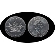 Canadá Canada Onza de plata 5 $ 2003 Maple Leaf Elisabeth II