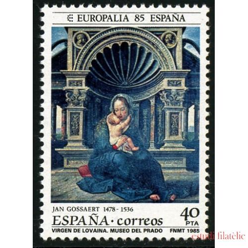 España Spain Emisión Conjunta  1985 Europalia 85 España - Bélgica MNH