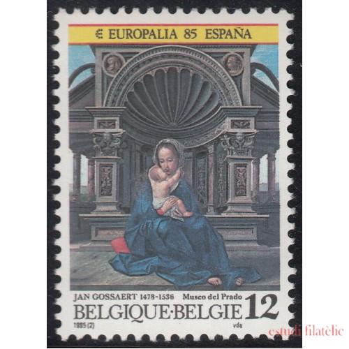España Spain Emisión Conjunta 1985 Europalia 85 Bélgica - España  MNH